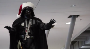 Video of the Day: Darth Vader Conducts Christmas Choir Flash Mob