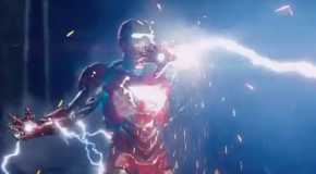 Thor & Iron Man Battle It Out in New 'Avengers' Clip