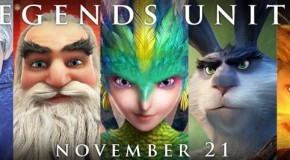 Six Epic Character Posters for 'Rise of the Guardians'