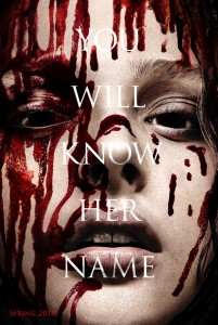 Carrie Movie Poster Featuring Chloe Grace Moretz