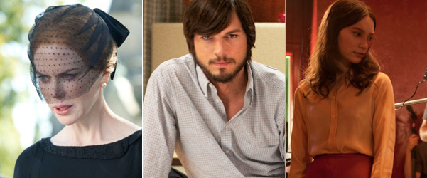 New Images from 'Jobs' & 'Stoker' – Kutcher, Kidman & Wasikowska On Set