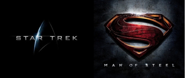 New Posters for 'Man of Steel' and 'Star Trek Into Darkness'