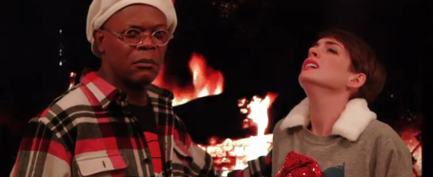 Samuel L. Jackson & Anne Hathaway Battle in Funny or Die Sad-Off