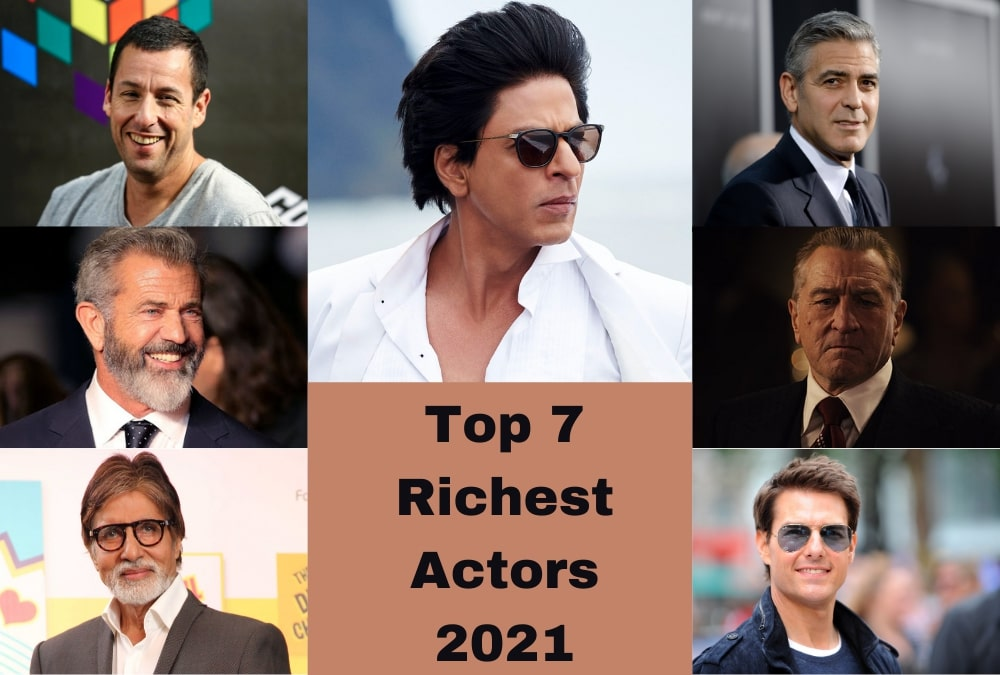 Top 7 Richest Male Celebrities in the world 2021