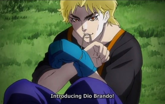 dio with boxing gloves