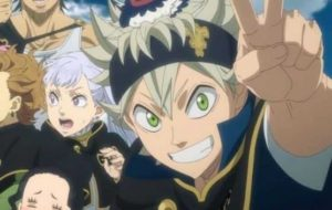 Black Clover anime where the main character is op